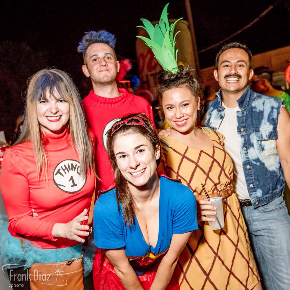 bs west 2016 halloween party